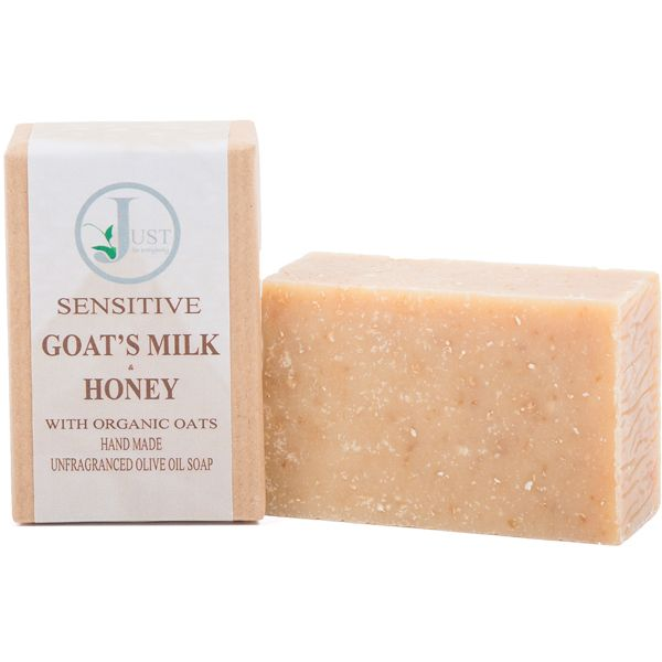 Goat's Milk, Honey with Oats Soap (100g)