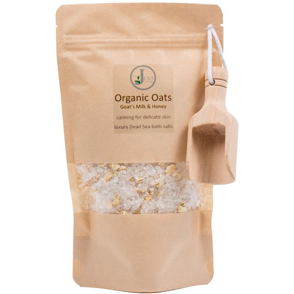 Goat's Milk, Oats & Honey Dead Sea Bath Salts (340g)