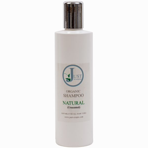 Natural (Unscented) Hair Shampoo Organic (200ml)