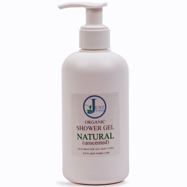 Natural (Unscented) Shower Gel Organic (200ml)