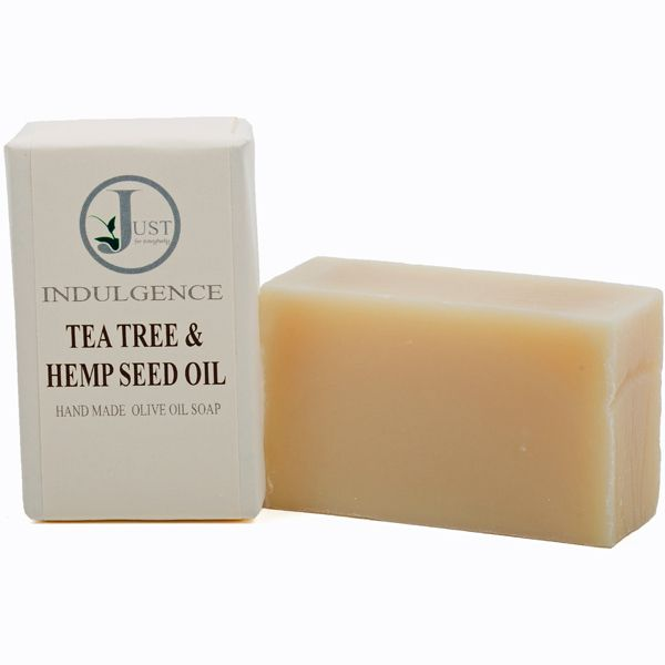 Tea Tree & Hemp Seed Oil Soap (100g)